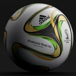 Adidas Brazuca Final Rio - Bola Oficial da final da Copa do Mundo de 2014 no 035a960d101c9
