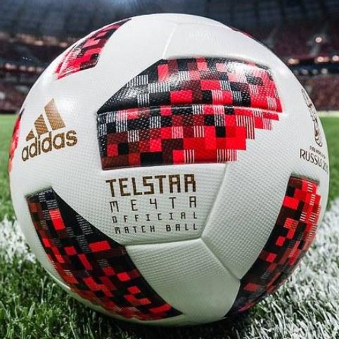 Adidas Telstar Mechta - Bola Oficial da Fase Eliminatória da Copa do Mundo  de 2018 na 0adb4bd81a270