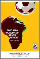 Pôster da Copa do Mundo de 2010 na África do Sul