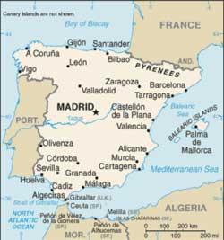 perfiles escoltas grande cerca de Algeciras