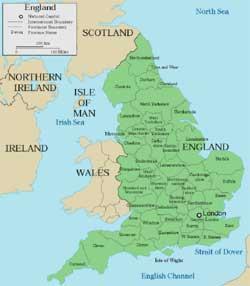 mapa do sul de inglaterra SELEÇÃO DA INGLATERRA NA COPA DO MUNDO 2018 RÚSSIA   Inglaterra NA  mapa do sul de inglaterra