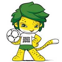 Zakumi - Mascote da Copa do Mundo de 2010 na África do Sul - 19º Copa do Mundo Fifa