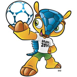 Fuleco - Mascote da Copa do Mundo de 2014 no Brasil - 20� Copa do Mundo