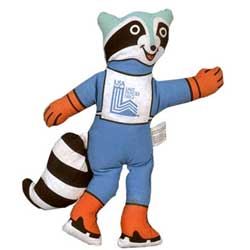 Mascote dos Jogos Ol�mpicos de Inverno - Lake Placid 1980 - Roni