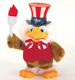 Mascote dos Jogos Olímpicos de Verão - Los Angeles 1984 - Águia Sam