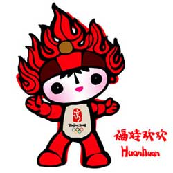 Huanhuan - Mascot of the 2008 Summer Olympics in Beijing - China