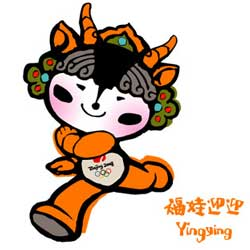 Yingying - Mascot of the 2008 Summer Olympics in Beijing - China