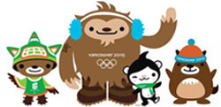 Mascote dos Jogos Olímpicos de Verão - Pequim 2008 - Beibei, Jingjing, Huanhuan, Yingying e Nini