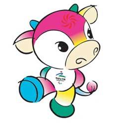 Fu Niu Lele - Mascote dos Jogos paraolímpicos de Pequim 2008