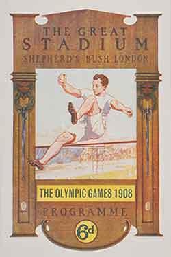 Pôster dos Jogos Olímpicos de Verão - Londres 1908