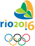 Emblem - Rio de Janeiro 2016 - Games of the XXXI Olympiad - Brazil - Summer Olympic Games 2016