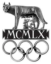 Emblem - Rome 1960 - Games of the XVII Olympiad - Summer Olympic Games