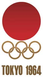 Emblem - Tokyo 1964 - Games of the XVIII Olympiad - Summer Olympic Games