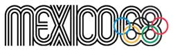 Emblem - Mexico City 1968 - Games of the XIX Olympiad - Summer Olympic Games