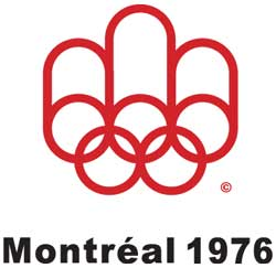 Emblem - Montreal 1976 - Games of the XXI Olympiad - Summer Olympic Games