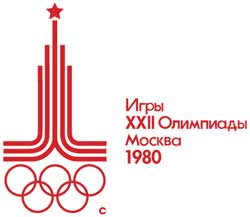 Emblem - Moscow 1980- Games of the XXII Olympiad - Summer Olympic Games