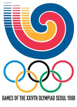 Emblem - Seoul 1988 - Games of the XXIV Olympiad - Summer Olympic Games