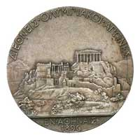 Medal reverse - Athens 1896 - Games of the I Olympiad - Summer Olympic Games