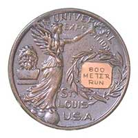 Medal reverse - St. Louis 1904 - Games of the III Olympiad - Summer Olympic Games
