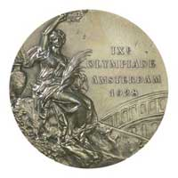 Medal obverse - Amsterdam 1928 - Games of the IX Olympiad - Summer Olympic Games