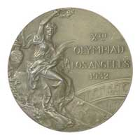 Medal obverse - Los Angeles 1932 - Games of the X Olympiad - Summer Olympic Games