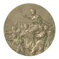 Medal reverse - Berlin 1936 - Games of the XI Olympiad - Summer Olympic Games