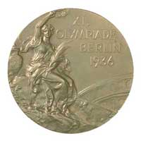 Medal obverse - Berlin 1936 - Games of the XI Olympiad - Summer Olympic Games