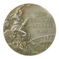 Medal obverse - London 1948 - Games of the XIV Olympiad - Summer Olympic Games
