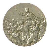 Medal reverse - Helsinki 1952 - Games of the XV Olympiad - Summer Olympic Games