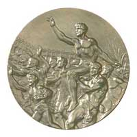 Medal reverse - Melbourne 1956 - Games of the XVI Olympiad - Summer Olympic Games