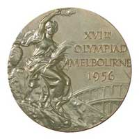 Medal obverse - Melbourne 1956 - Games of the XVI Olympiad - Summer Olympic Games
