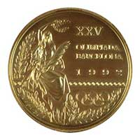 Medal obverse - Barcelona 1992 - Games of the XXV Olympiad - Summer Olympic Games