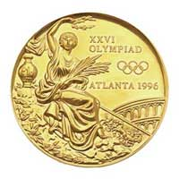 Medal obverse - Atlanta 1996 - Games of the XXVI Olympiad - Summer Olympic Games