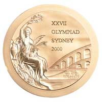 Medal obverse - Atlanta 1996 - Games of the XXVII Olympiad - Summer Olympic Games