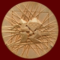 Medal reverse - London 2012- Games of the XXX Olympiad - Summer Olympic Games
