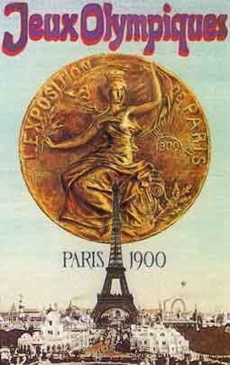 Poster - Paris 1900 - Games of the II Olympiad - Summer Olympic Games