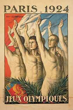 Poster - Paris 1924 - Games of the VIII Olympiad - Summer Olympic Games