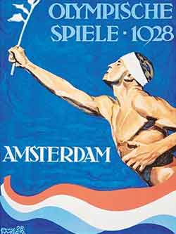 Poster - Amsterdam 1928 - Games of the IX Olympiad - Summer Olympic Games