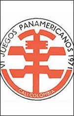 Pôster dos Jogos Pan-Americanos de Cáli - 1971
