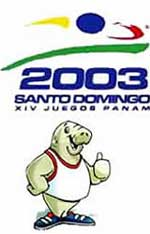 Poster Images - XIV Pan American Games - Santo Domingo - 2003