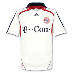 Uniforme 2 do Bayern M�nchen - Temporada 2007/2008