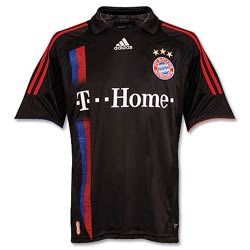 Uniforme 3 do Bayern M�nchen - Temporada 2007/2008