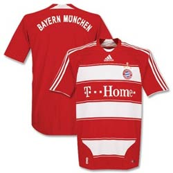 Uniforme 1 do Bayern M�nchen - Temporada 2008/2009
