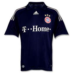 Uniforme 2 do Bayern M�nchen - Temporada 2008/2009