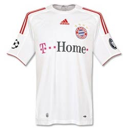 Uniforme 3 do Bayern M�nchen - Temporada 2008/2009