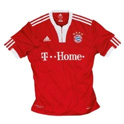 Uniforme 1 do Bayern M�nchen - Temporada 2009/2010