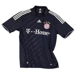 Uniforme 2 do Bayern M�nchen - Temporada 2009/2010