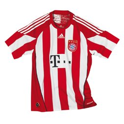 Uniforme 1 do Bayern M�nchen - Temporada 2010/2011