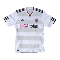 Uniforme 2 do Bayern M�nchen - Temporada 2010/2011