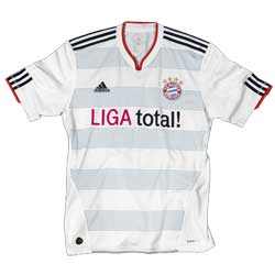Uniforme 2 do Bayern M�nchen - Temporada 2011/2012